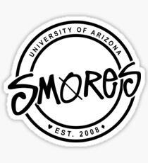 SMORES   B&W LOGO Sticker