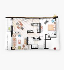 Floorplan of the apartment of Dexter Morgan v.1 Studio Pouch