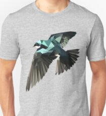 Low Poly Vogel Unisex T-Shirt