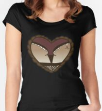 Sailor Jerry Booty  Women's Fitted Scoop T-Shirt