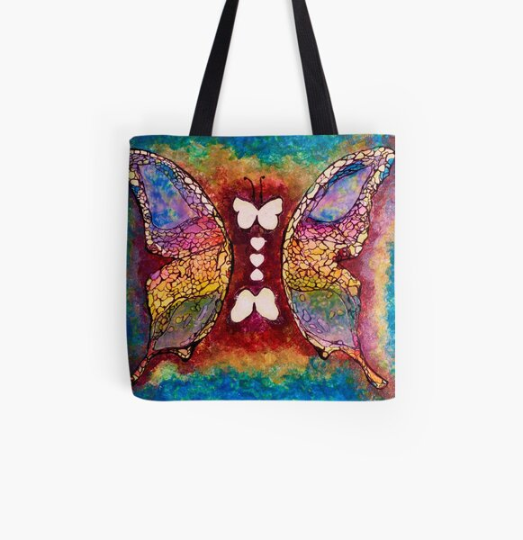 A Match Made All Over Print Tote Bag