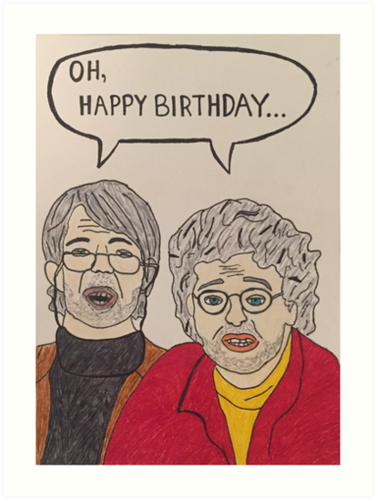 Oh Hello Birthday Card By Wildcarddesigns