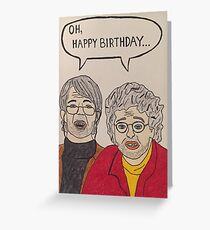 Oh, Hello Birthday Card Greeting Card