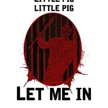 """The Walking Dead- Negan """"Little Pig"""" by lukeyy"""