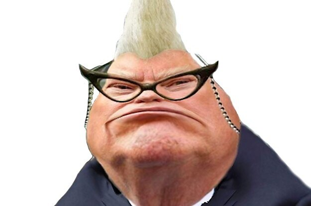 Donald Trump as Roz from Monsters Inc