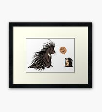 Nice Hair Framed Print