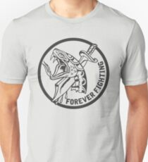 Forever Fighting, Snake & Dagger Tattoo  Unisex T-Shirt