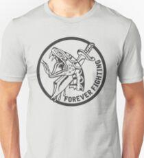 Forever Fighting, Snake & Dagger Tattoo  T-Shirt