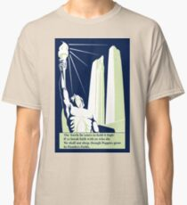 The torch, in Flanders fields Classic T-Shirt