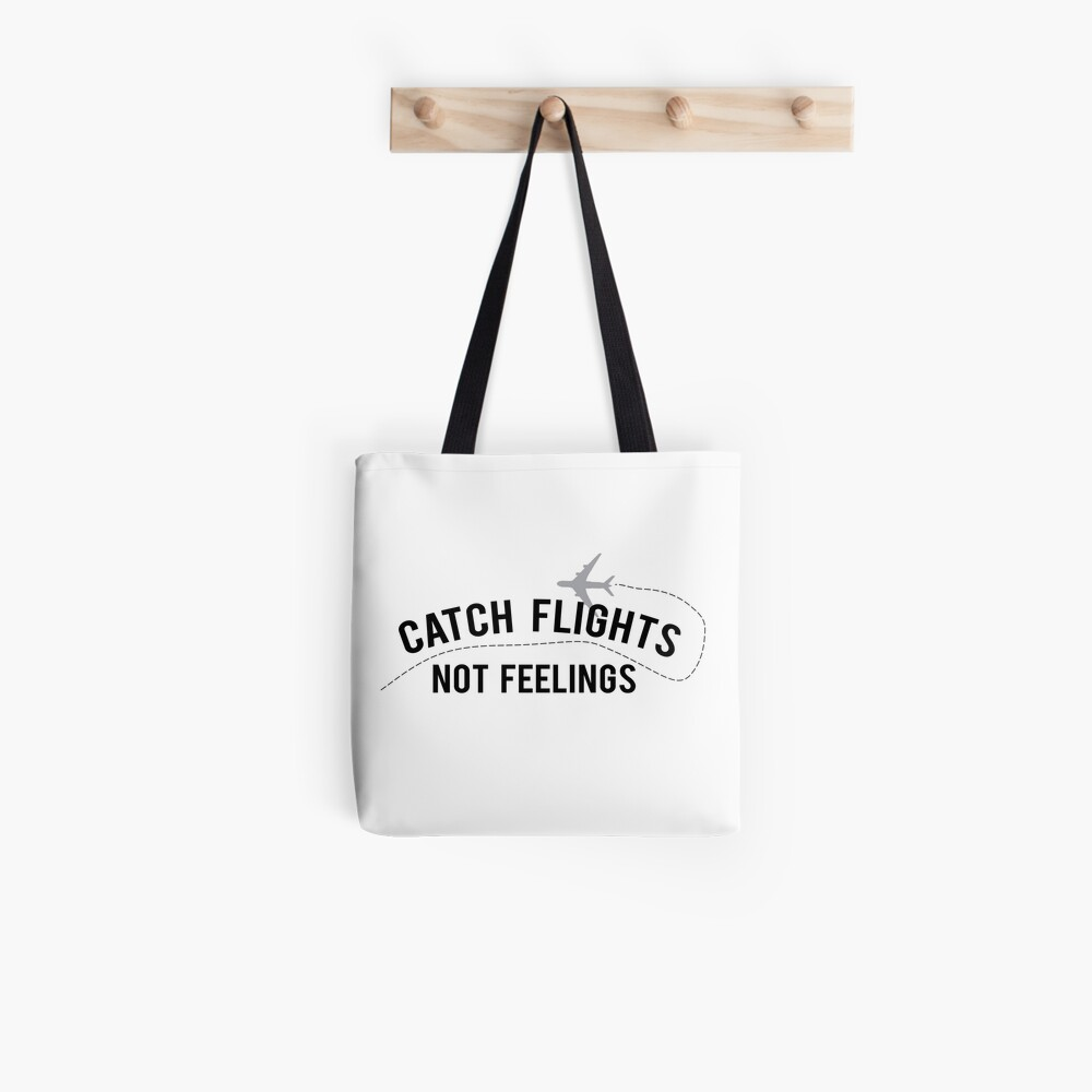 The Travel Motto Tote Bag