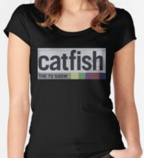 Catfish the TV Show Women's Fitted Scoop T-Shirt