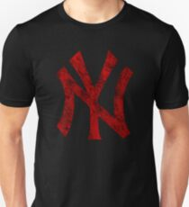 °BASEBALL° NY Yankees Rust Logo Unisex T-Shirt