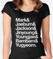 GOT7 - 갓세븐 Women's Fitted Scoop T-Shirt