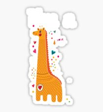 I'm a Giraffe Sticker