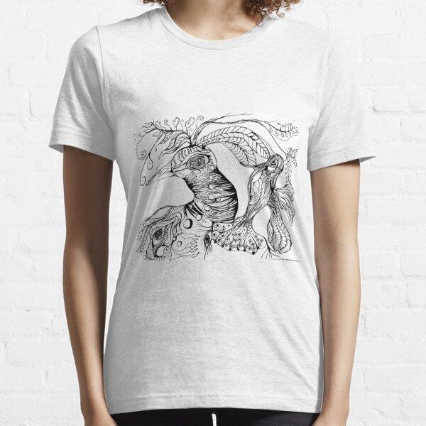 Four Faces Essential T-Shirt