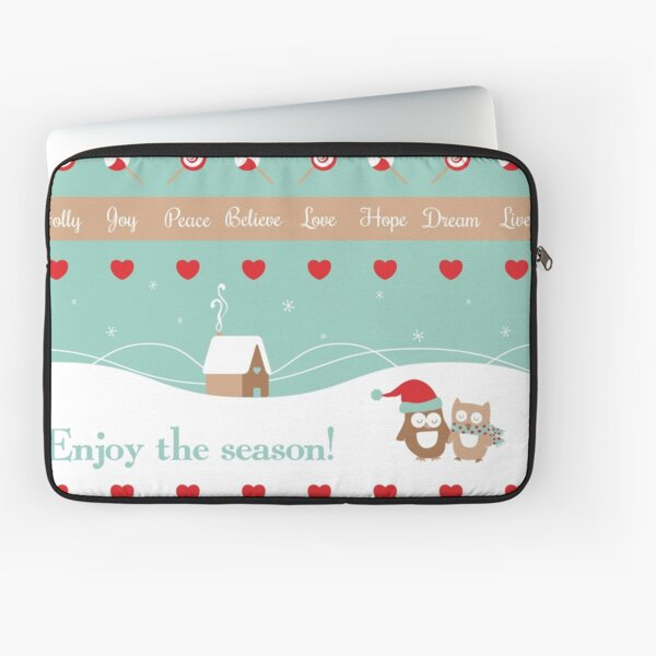 Enjoy The Season Laptop Sleeve