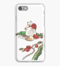 For Santa Cat 2 iPhone Case/Skin