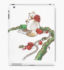 For Santa Cat 2 iPad Case/Skin