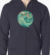 Into the Ocean Zipped Hoodie