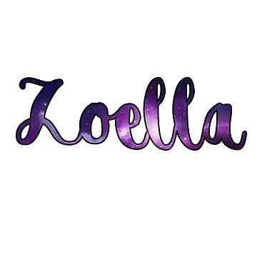 Etiqueta engomada de Zoella de thefanapparel