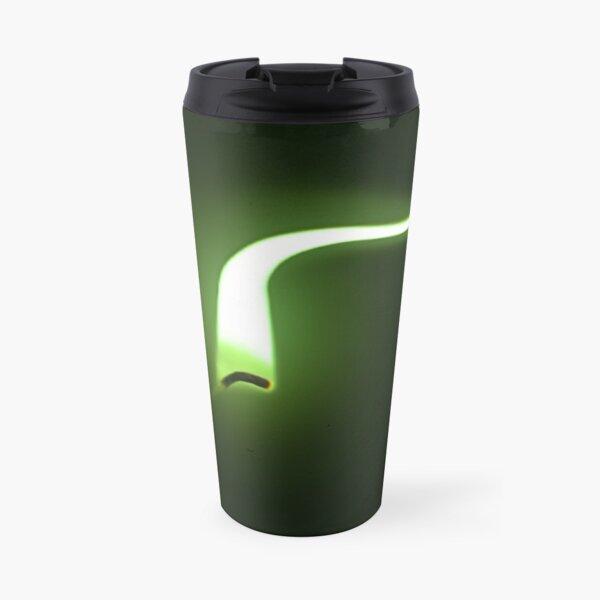 Green flame. Travel Mug