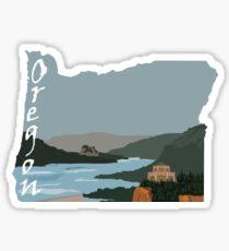 Oregon: Columbia River Gorge Sticker