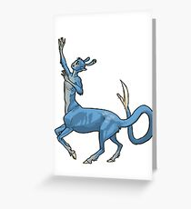 Andalite Boy Greeting Card