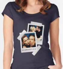 i'm with schmoopie Women's Fitted Scoop T-Shirt