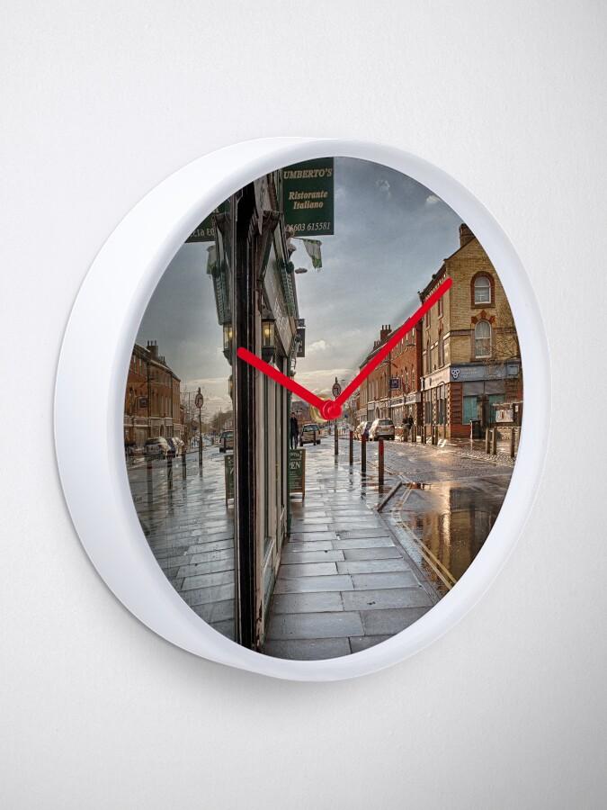 Alternate view of Sunshine on a Rainy Day Clock