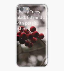 haiku iPhone Case/Skin