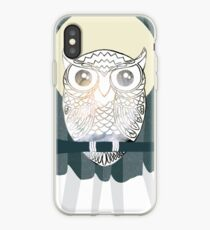 Owl is Calm iPhone Case