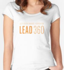 LEAD360 Logo Women's Fitted Scoop T-Shirt