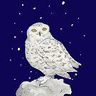 Snowy owl by pokegirl93