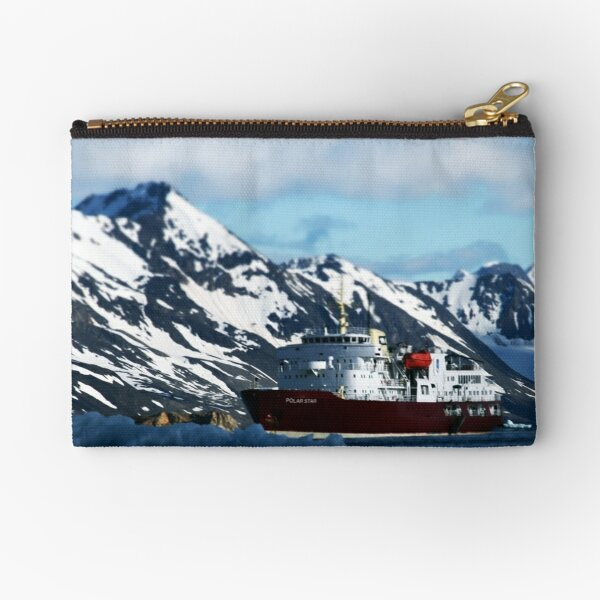Polar Star and the Mountains Zipper Pouch