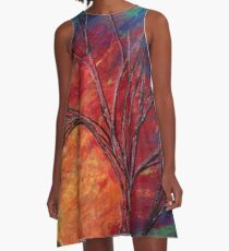 Fractured Skies A-Line Dress