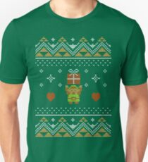 Zelda Christmas Sweater Unisex T-Shirt