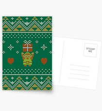 Zelda Christmas Sweater Postcards