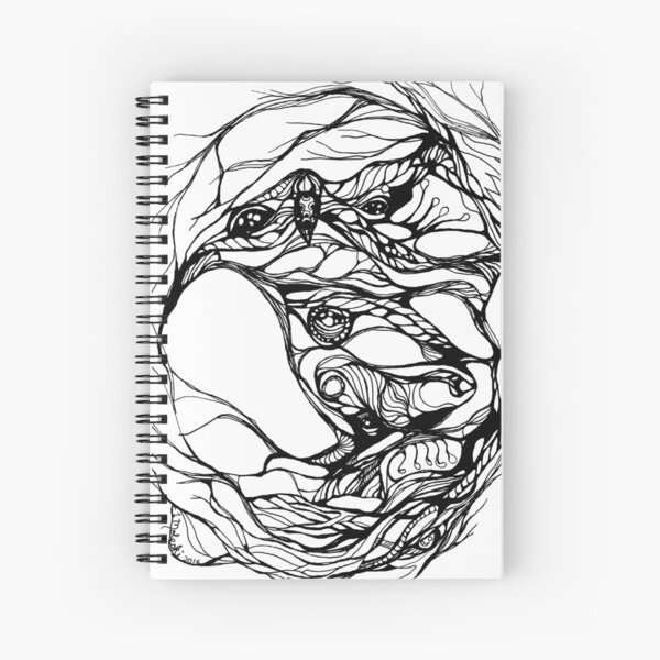Hidden in the Burrow Spiral Notebook