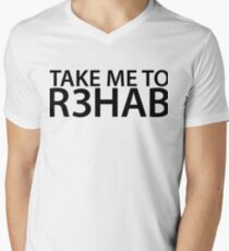 Take Me To R3hab Men's V-Neck T-Shirt