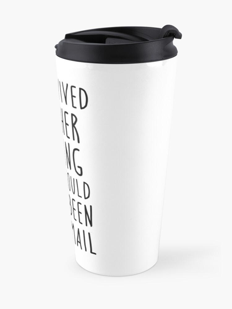 Alternate view of Another meeting Travel Mug