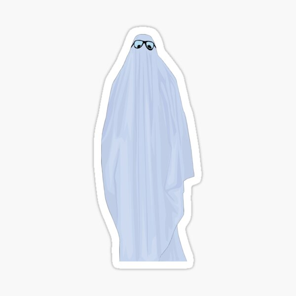 Michael Myers Sheet Ghost Sticker