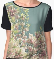Magnolia in Bloom Chiffon Top