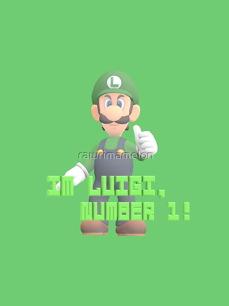 Super Mario Bros. - Luigi von rawrimamelon