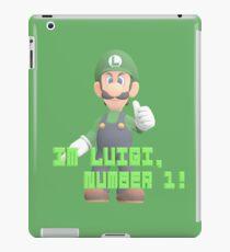Super Mario Bros. - Luigi iPad Case/Skin
