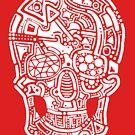 Human Skull by David Zacek