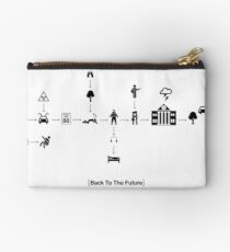 Back To The Future Pictogram Story  Studio Pouch
