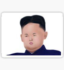 Tiny Face Kim Sticker