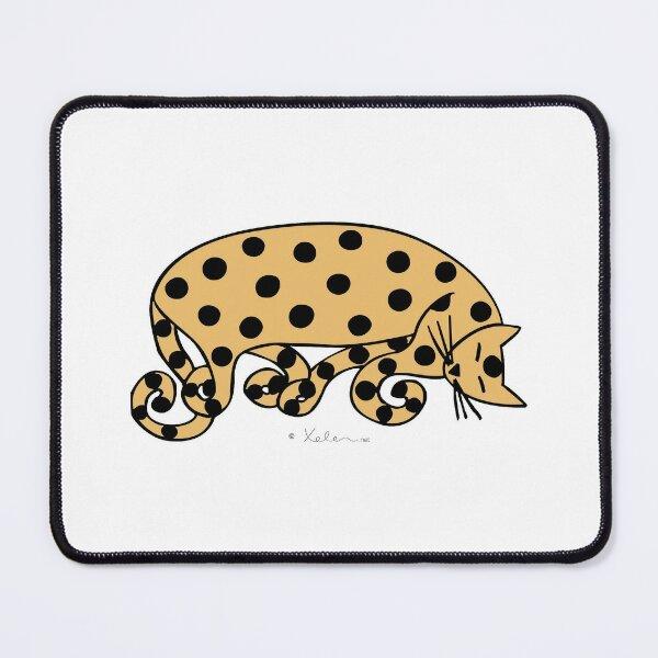 ATOMIC CAT ocher, Xelen.net Mouse Pad
