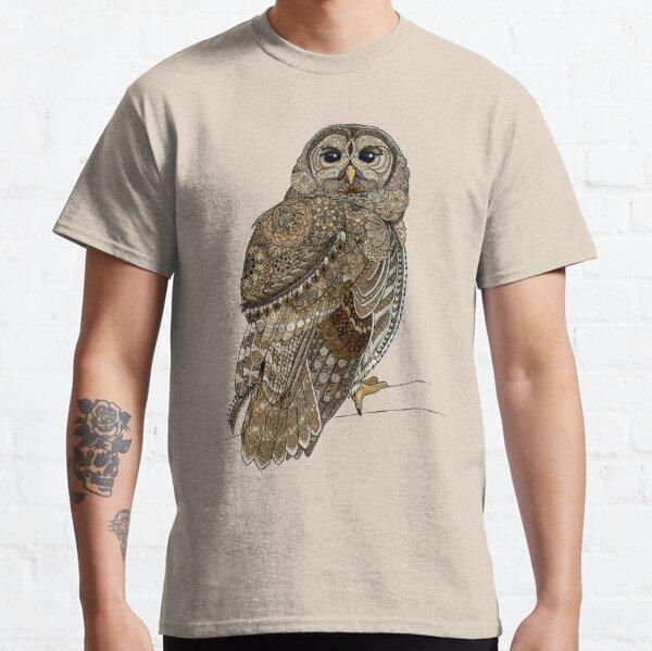 Barred Owl Tangle Classic T-Shirt