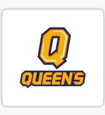 Queen's U Logo Sticker